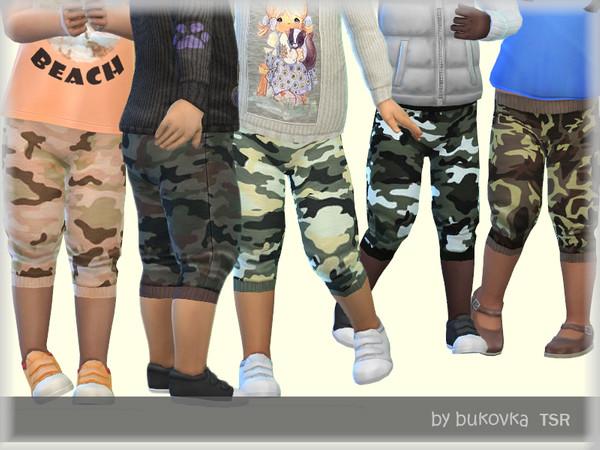 Sims 4 Pants Army by bukovka at TSR