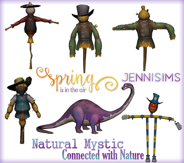 Sims 4 Decorative Scarecrow 6 Items at Jenni Sims