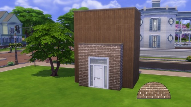 Brick walls pack by iSandor at Mod The Sims image 1044 670x377 Sims 4 Updates