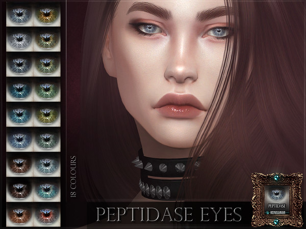 Sims 4 Peptidase Eyes by RemusSirion at TSR