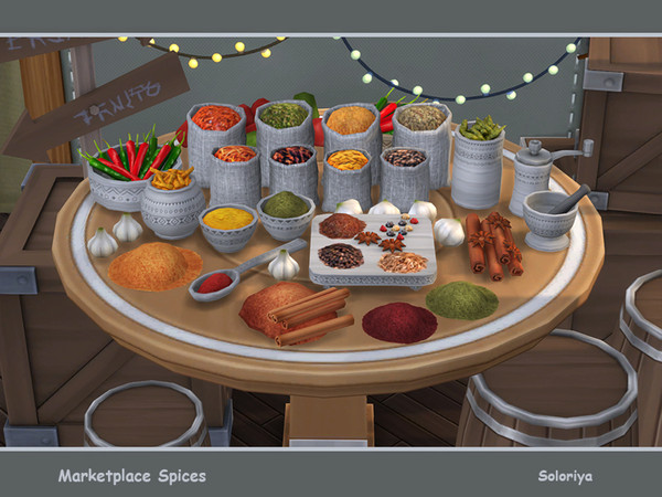 Sims 4 Marketplace Spices by soloriya at TSR