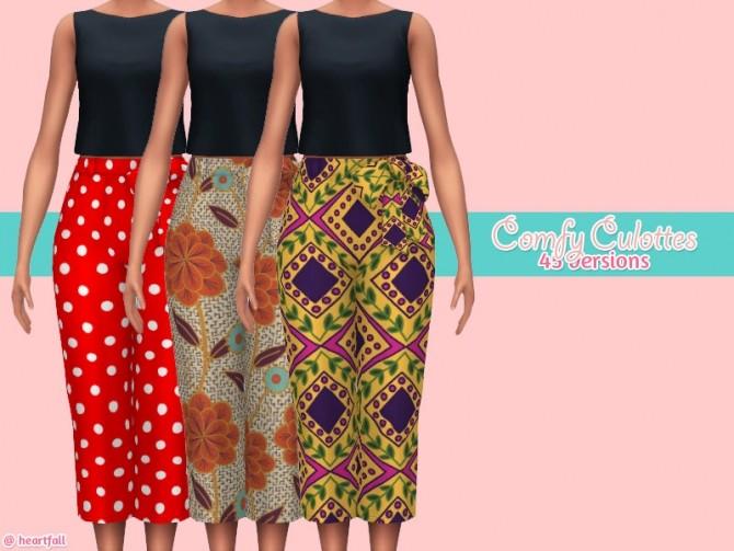 Comfy culottes at Heartfall image 1087 670x503 Sims 4 Updates