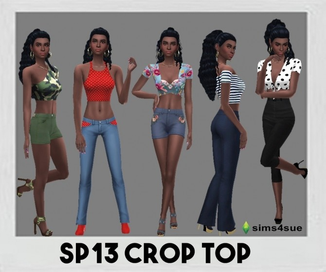SP13 CROP TOP at Sims4Sue image 1088 670x559 Sims 4 Updates