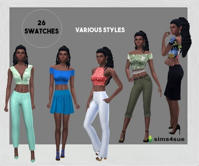 SP13 CROP TOP at Sims4Sue image 11012 670x559 Sims 4 Updates