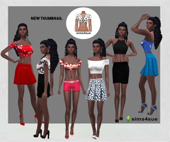 SP13 CROP TOP at Sims4Sue image 11113 670x559 Sims 4 Updates