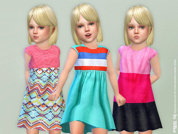 Toddler Dresses Collection P82 by lillka at TSR image 1114 Sims 4 Updates