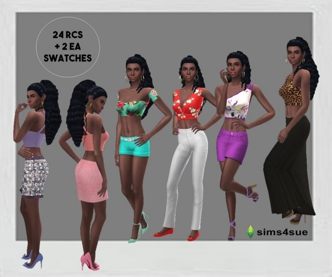 SP13 CROP TOP at Sims4Sue image 11210 670x559 Sims 4 Updates