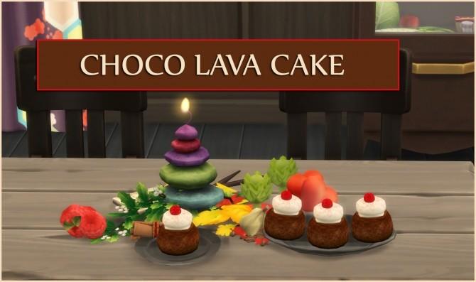 Sims 4 CHOCO LAVA CAKE at Icemunmun
