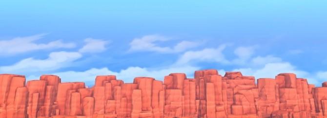 Sims 4 DESERT VIBES Custom Paintings at Milja Maison