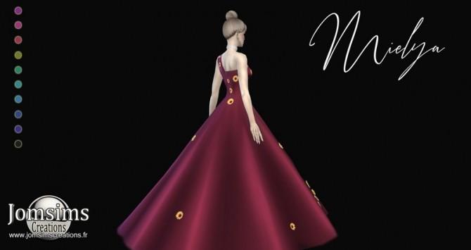 Mielya fleur dress at Jomsims Creations image 1136 670x355 Sims 4 Updates