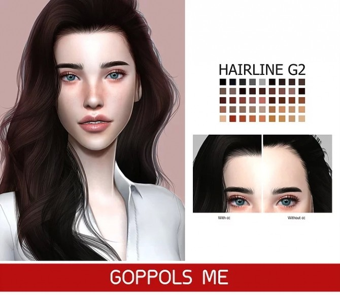 GPME GOLD Hairline G2 at GOPPOLS Me image 1137 670x583 Sims 4 Updates