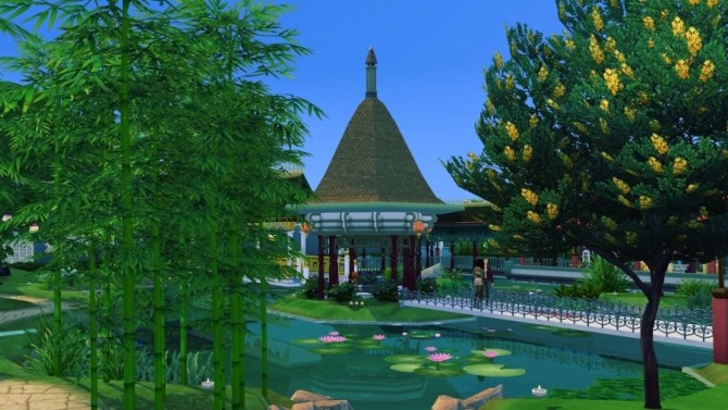 The open lotus park by Delise at Sims Artists image 11416 670x377 Sims 4 Updates