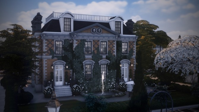 Sims 4 Hogsmeade Manor at Harrie