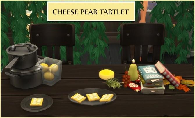 Sims 4 CHEESE PEAR TARTLETS at Icemunmun