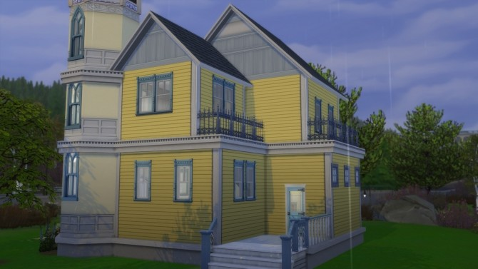 Sims 4 Buttercup Victorian Starter Home by Christine11778 at Mod The Sims