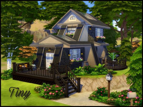 Tiny home by sparky at TSR image 12101 Sims 4 Updates