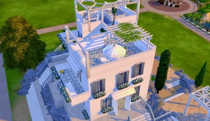 Mykonos Crete House At Guijobo Sims 4 Updates