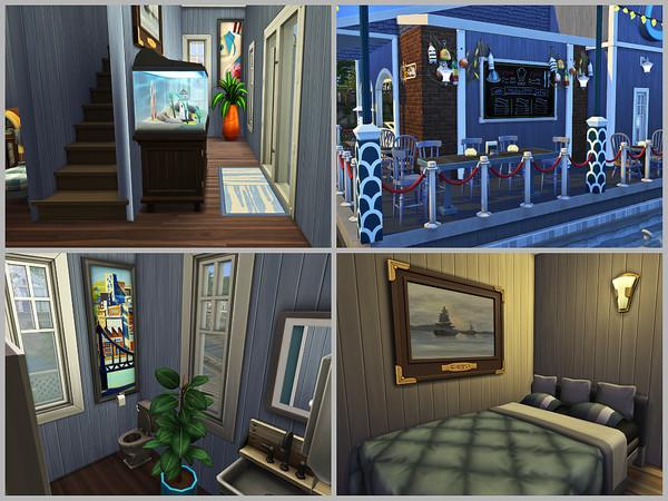 Sims 4 Seawise Motel by Xandralynn at TSR