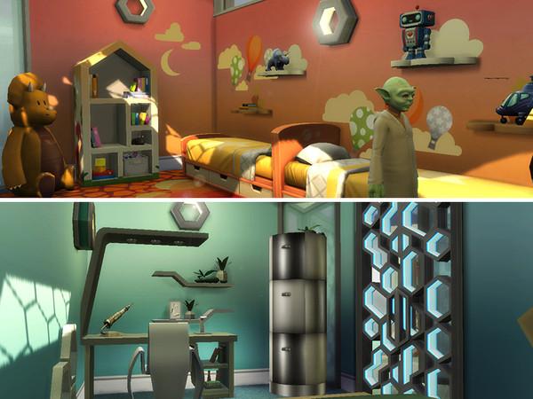 Ipsylon modern futuristic spaceship by dasie2 at TSR image 1218 Sims 4 Updates