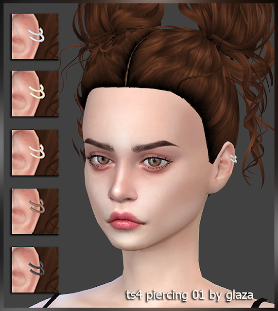 Piercing 01 at All by Glaza image 1222 Sims 4 Updates