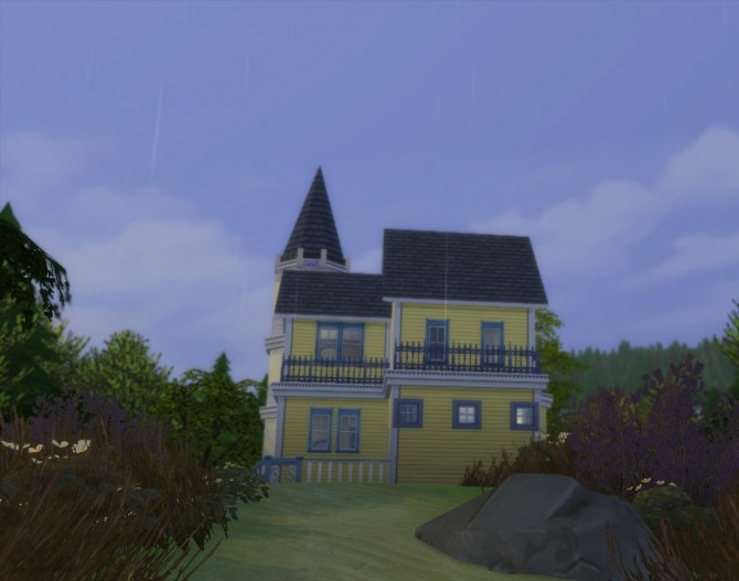 Buttercup Victorian Starter Home by Christine11778 at Mod The Sims image 1224 670x527 Sims 4 Updates