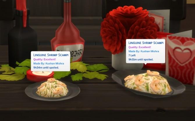 SHRIMP SCAMPI WITH LINGUINE at Icemunmun image 1236 670x418 Sims 4 Updates