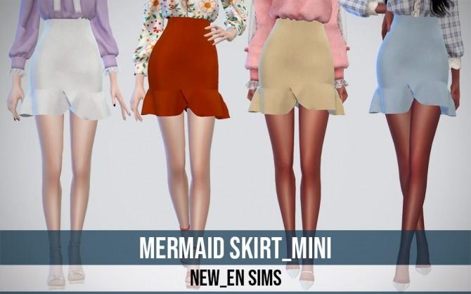 Mermaid Skirt mini at NEWEN image 129 670x419 Sims 4 Updates