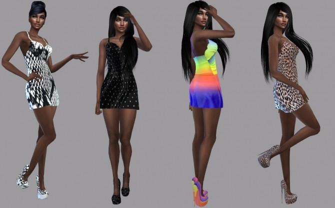 Sims 4 Rainbow Set at Teenageeaglerunner