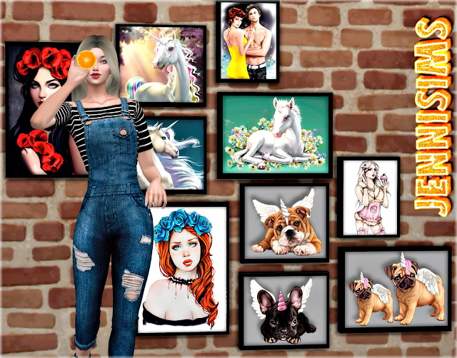 Sims 4 Paintings Bed time Stories at Jenni Sims