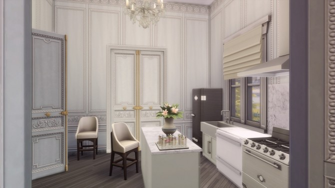 Sims 4 2B Jasmine Suites Renovation at GravySims
