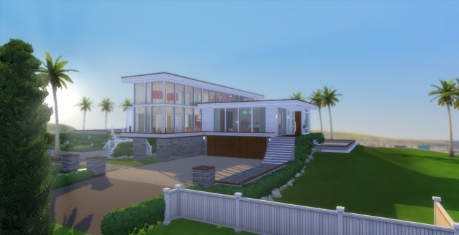 Sims 4 Fresh Start house No Cc by wouterfan at Mod The Sims