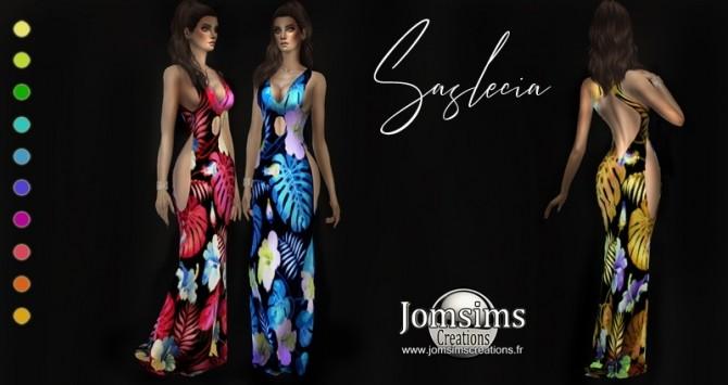Saslecia dress at Jomsims Creations image 1355 670x355 Sims 4 Updates
