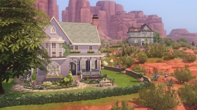 Sims 4 Creek Cottage at Harrie