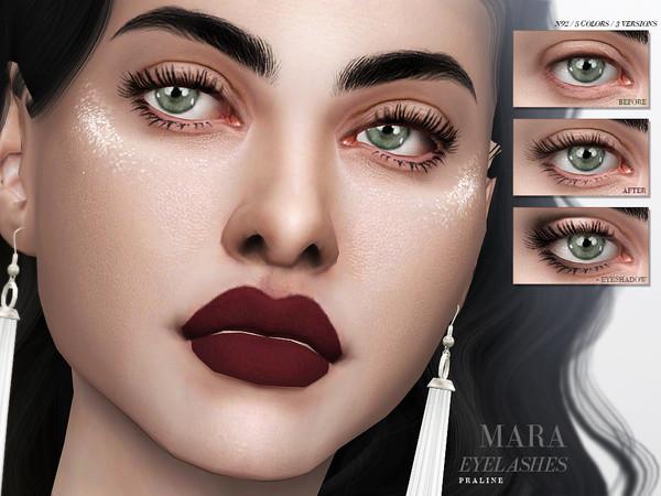 Sims 4 Mara Eyelashes N92 by Pralinesims at TSR
