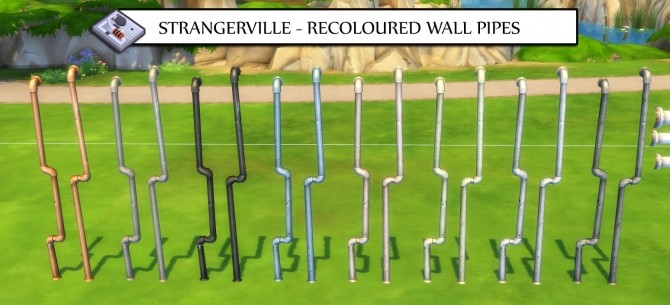 Sims 4 STRAGERVILLE RECOLOURED LIBERTATED OBJECTS PART 2 at Icemunmun
