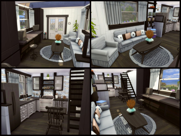 Tiny home by sparky at TSR image 1448 Sims 4 Updates