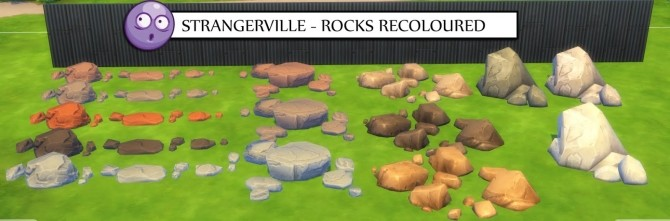 Sims 4 STRANGERVILLE RECOLOURED LIBERATED OBJECTS PART 1 at Icemunmun
