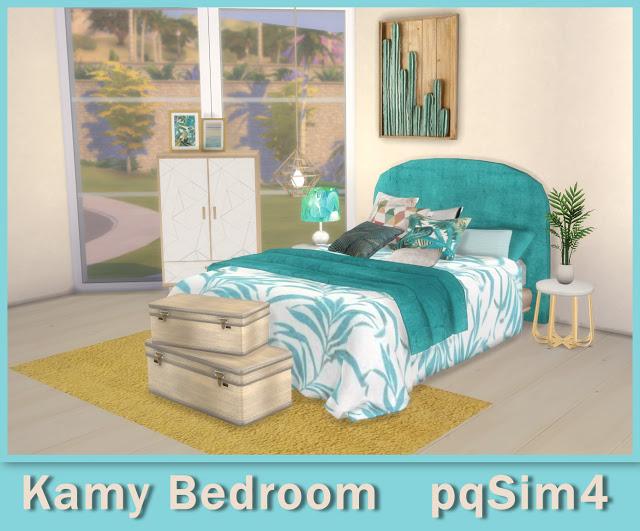 Sims 4 Kamy Bedroom at pqSims4