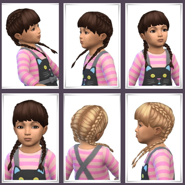 Toddler Double Braids at Birksches Sims Blog image 1504 Sims 4 Updates