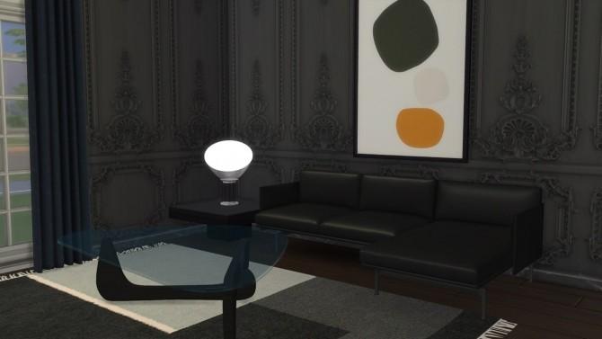 Sims 4 TACCIA TABLE LAMP at Meinkatz Creations