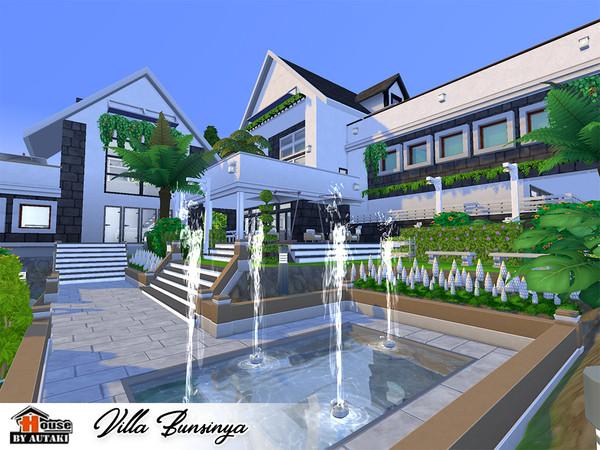 Sims 4 Villa Bunsinya by autaki at TSR