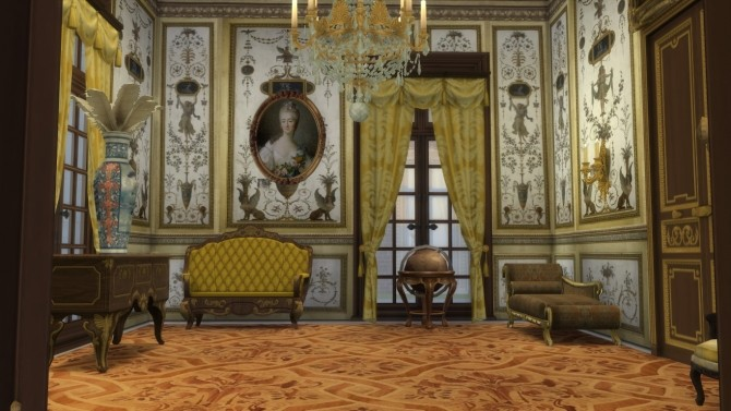 Fontainebleau Boiserie wall set at Regal Sims image 1539 670x377 Sims 4 Updates
