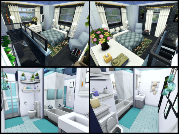 Tiny home by sparky at TSR image 1547 Sims 4 Updates
