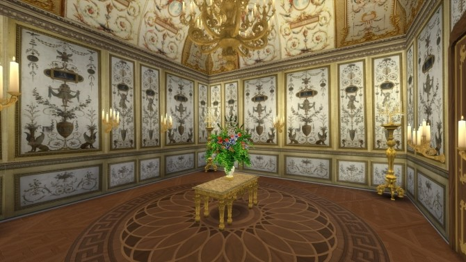 Fontainebleau Boiserie wall set at Regal Sims image 1566 670x377 Sims 4 Updates