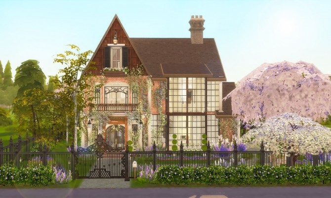Charming Family Home at Ruby's Home Design image 1665 670x401 Sims 4 Updates