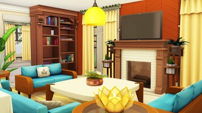 Sims 4 Summery Family Home at Aveline Sims
