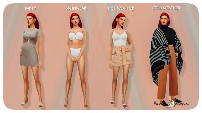 Sims 4 KATRINA CALIENTE Townie Makeover at Luna Sims