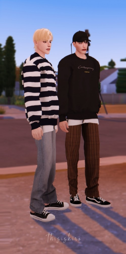 MTM & Wide Legged Trousers at Kiro image 1704 499x1000 Sims 4 Updates