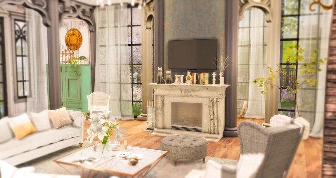 Charming Family Home at Ruby's Home Design image 17110 670x355 Sims 4 Updates