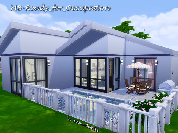 Sims 4 MB Ready for Occupation home by matomibotaki at TSR
